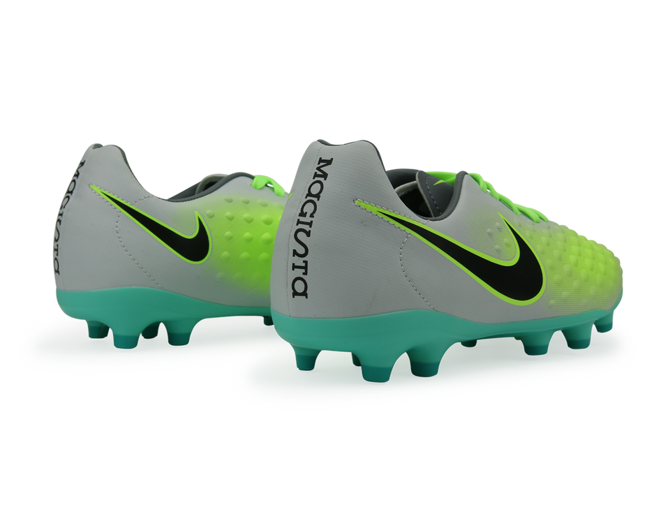 Nike Kids Magista Onda II FG Pure Platinum/Black/Ghost Green