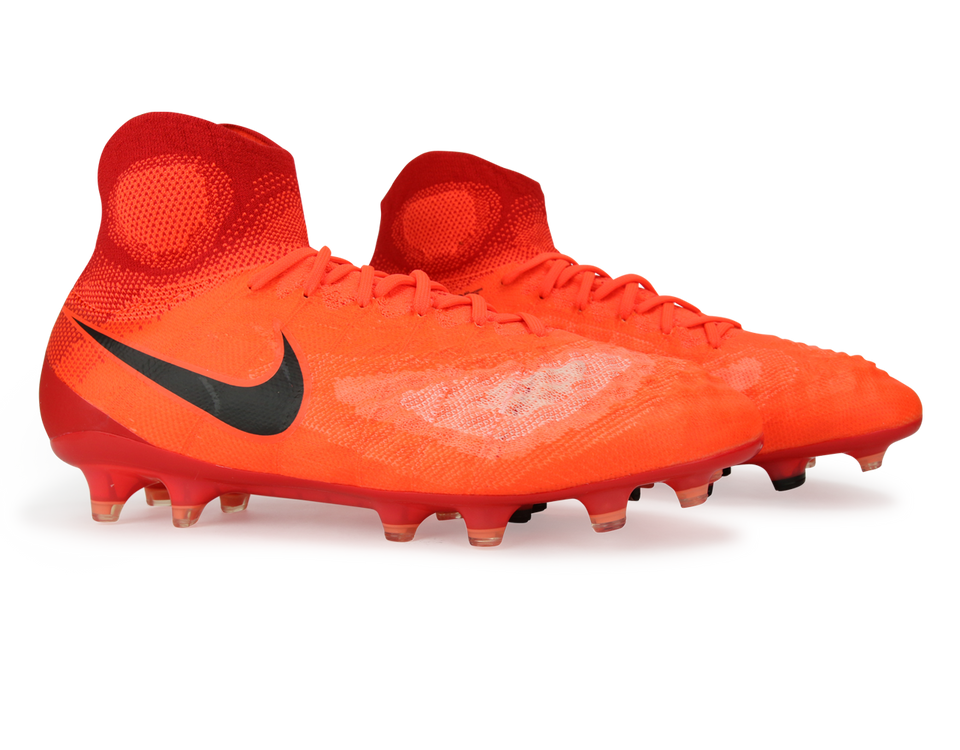 Nike Men's Magista Obra II FG Total Crimson/Black/University Red
