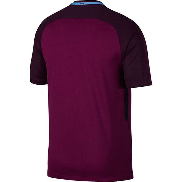 Nike Men's Manchester City 17/18 Away Jersey True Berry/White