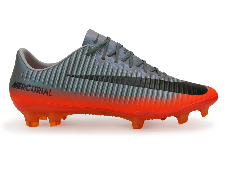 Nike Men's Mercurial Vapor XI CR7 FG  Cool Grey/Metallic Hematite/Wolf Grey