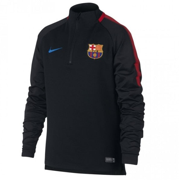 Nike Kids FC Barcelona Squad Top Black/University Red/Soar