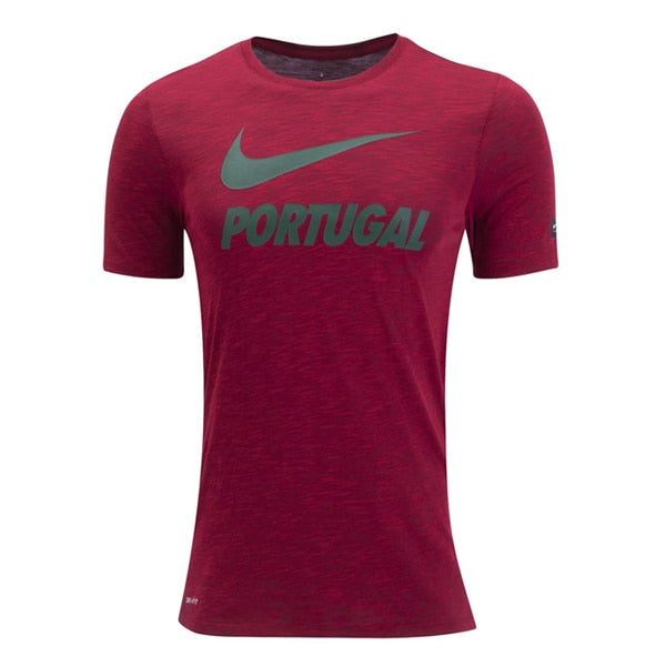 Nike Men's Portugal Tee Gym Red