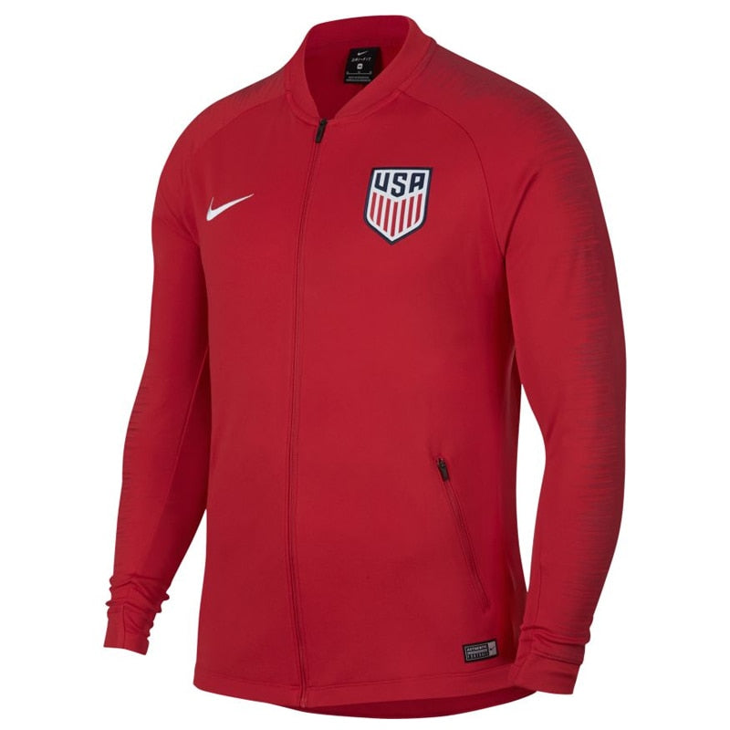 Nike Men's USA Squad Jacket University Red/Gym Red