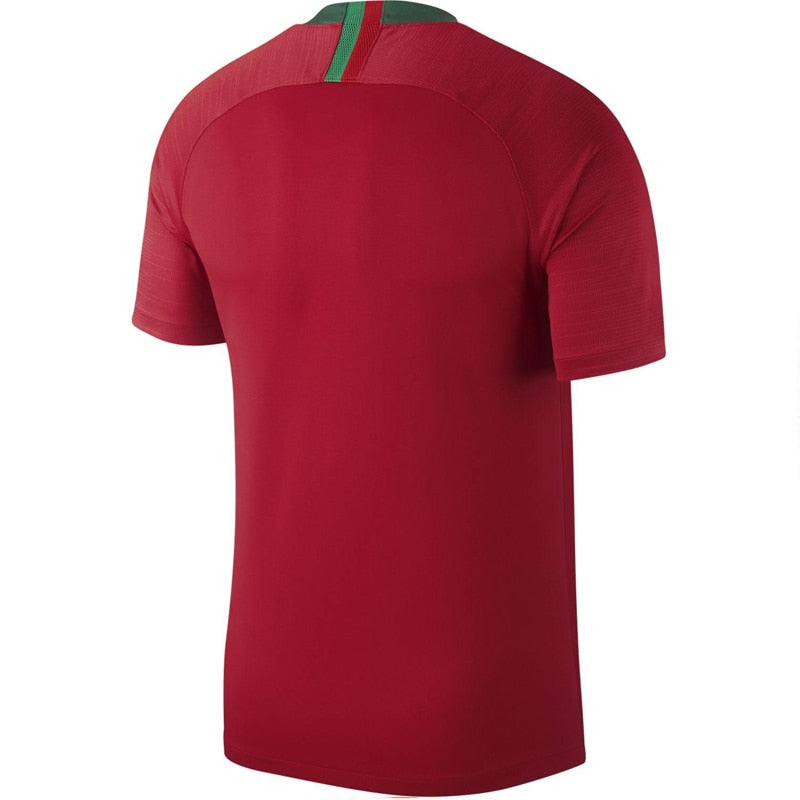 Nike Men's Portugal 18/19 Home Jersey Gym Red