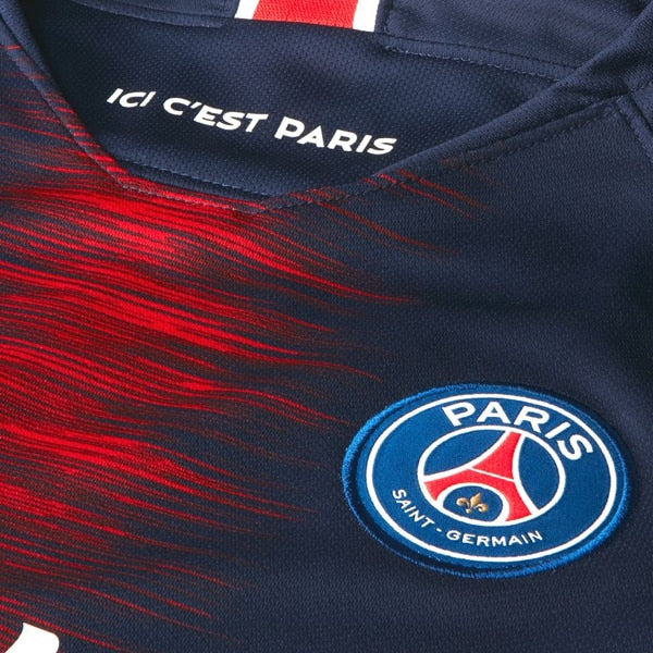 Nike Kids Paris Saint-Germain 18/19 Home Jersey Midnight Navy/White