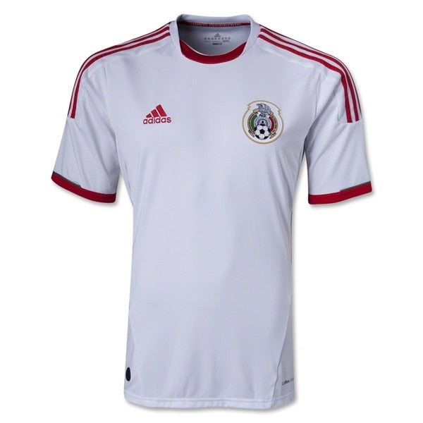 adidas Men's Mexico 13/14 Third Jersey White/Red