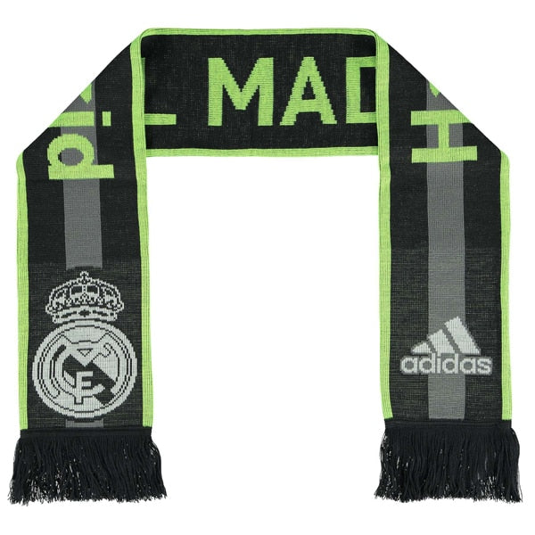 adidas Real Madrid Scarf Deepest Space/Grey/Solar Yellow