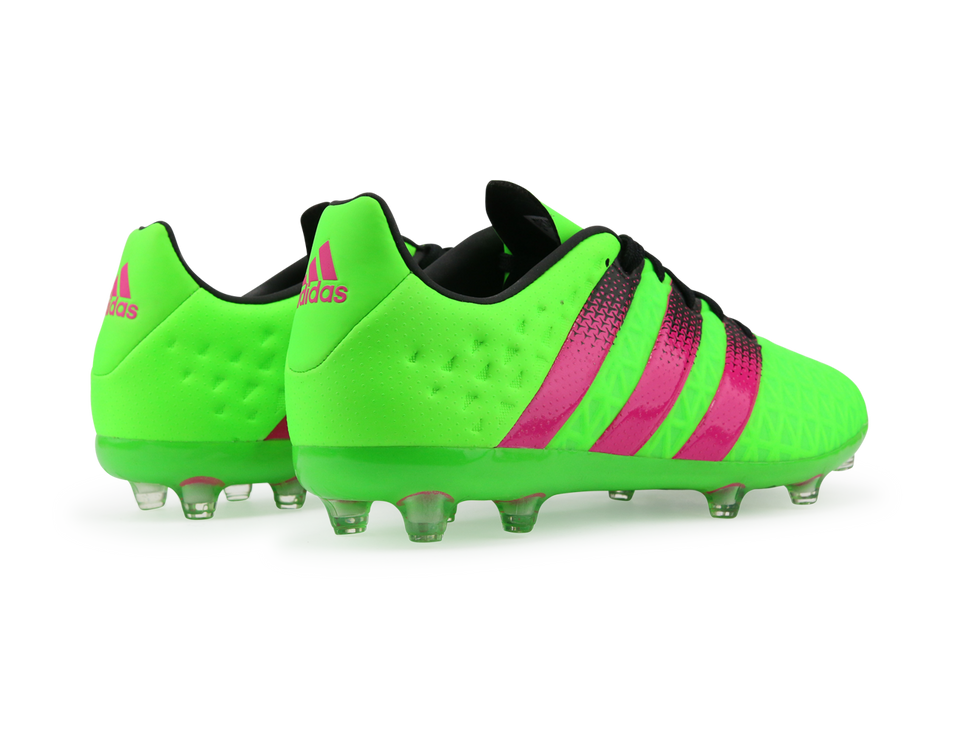 adidas Kids ACE 16.1 FG/AG Solar Green/Shock Pink/Black
