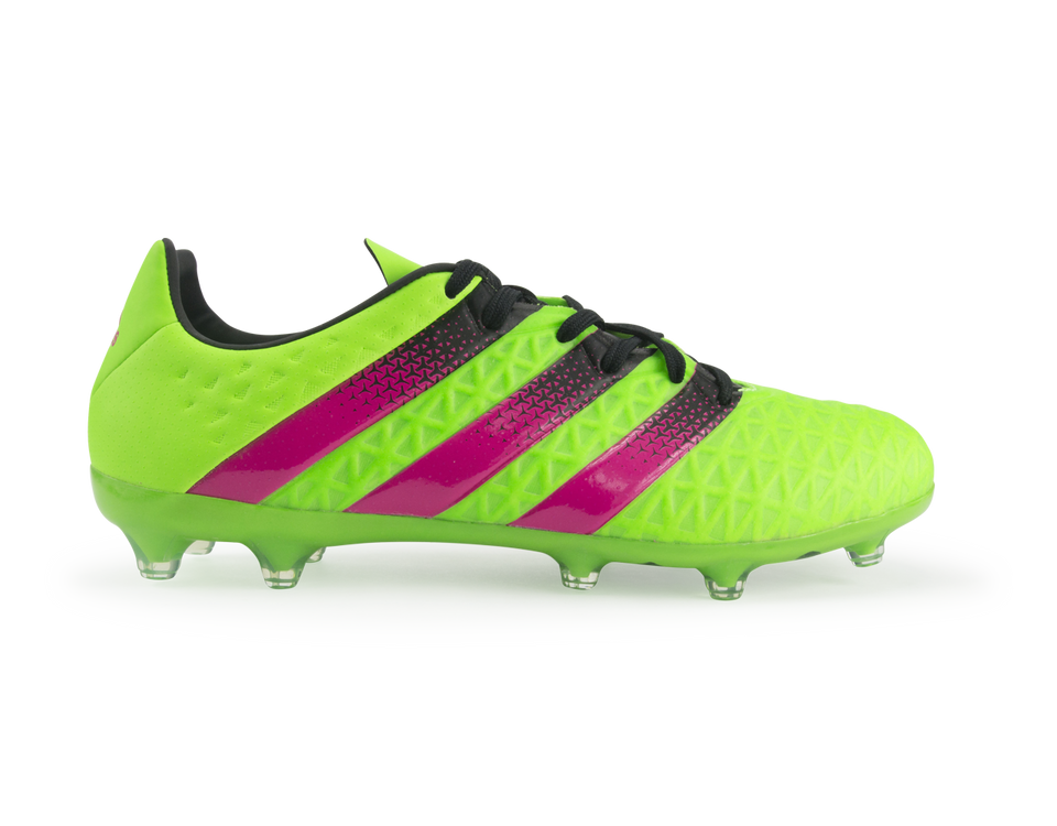 adidas Men's ACE 16.2 FG/AG Solar Green/Shopin/Core Black