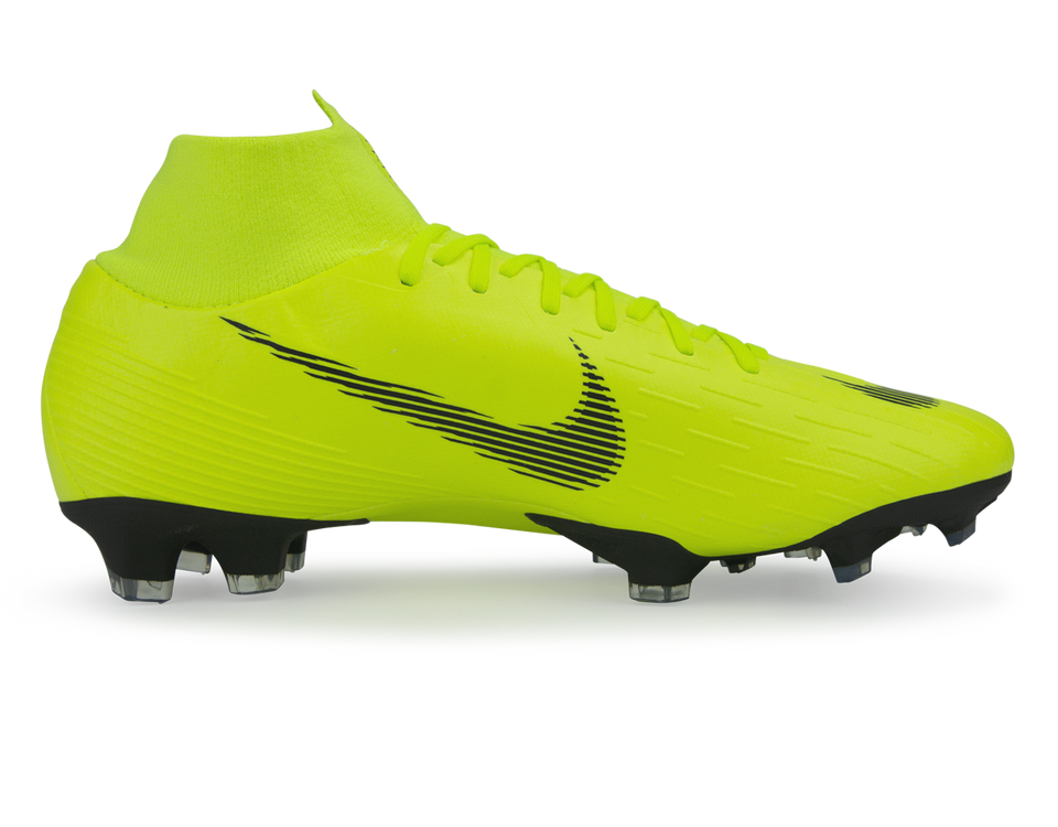 Nike Men's Mercurial Superfly 6 Pro FG Volt/Black