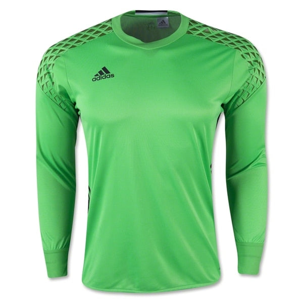 adidas Kids Onore 16 Goalkeeper Jersey Solar Lime/Raw Lime/Black