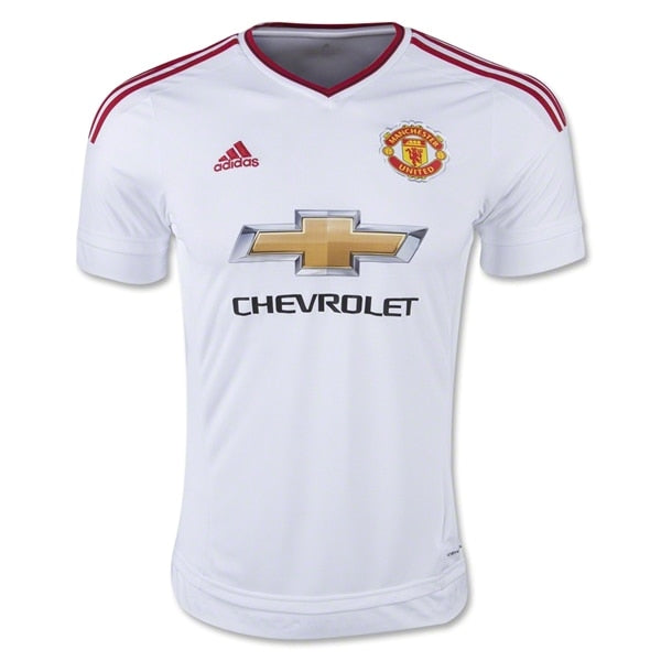 adidas Men's Manchester United 15/16 Away Jersey White