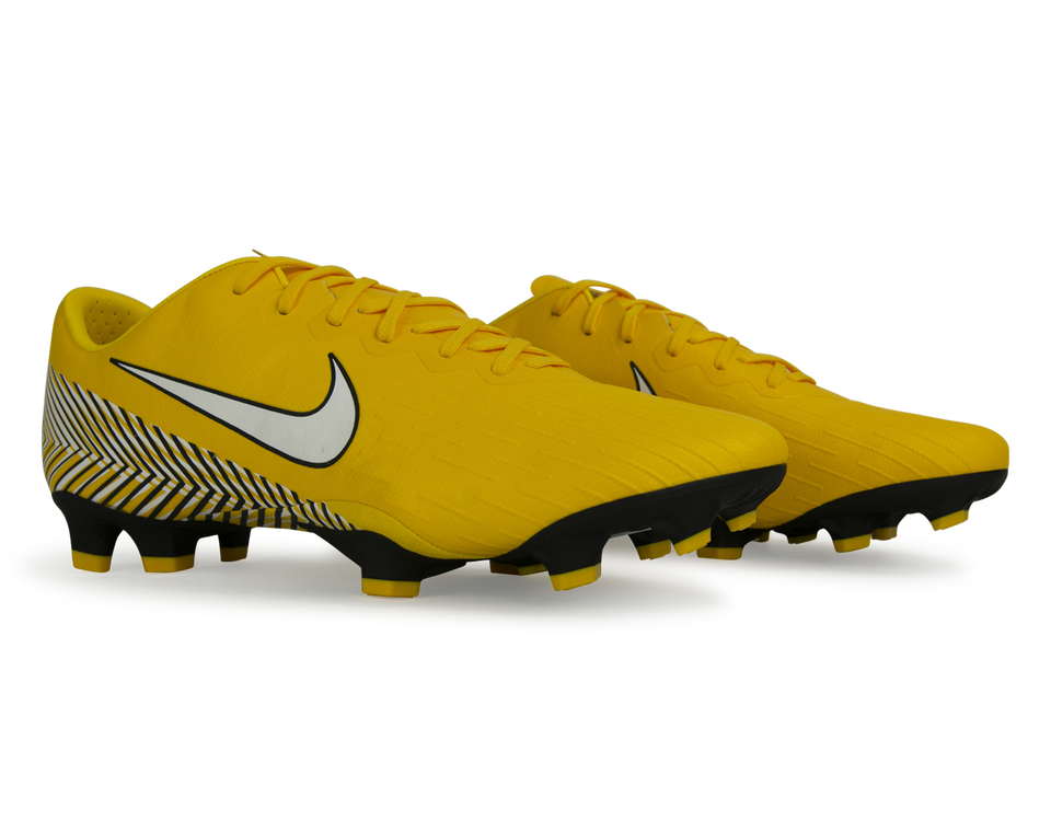 Nike Men's Mercurial Vapor 12 Pro Neymar Jr FG Amarillo/White/Black