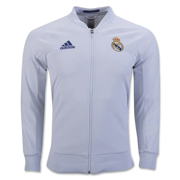 adidas Men's Real Madrid 16/17 Home Anthem Jacket White