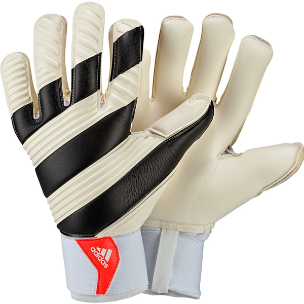 adidas Men's Classic Pro Goalkeeper Gloves White/Black