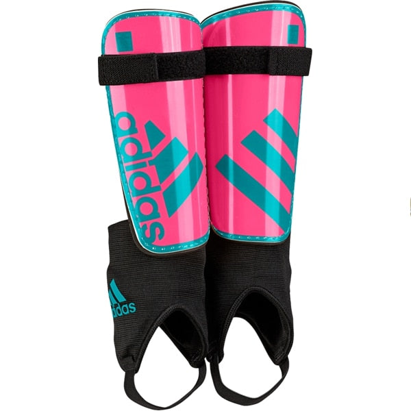 adidas Kids Ghost Shin Guards Solar Pink/Solar Lime