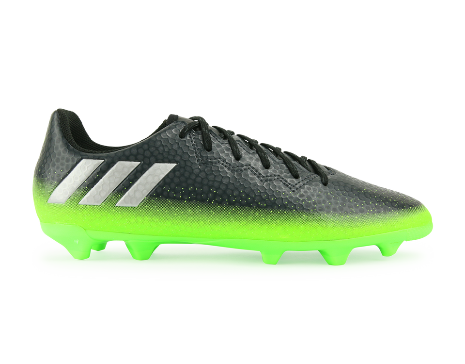 adidas Kids Messi 16.3 FG/AG Dark Grey/Silver Metalic/Solar Green