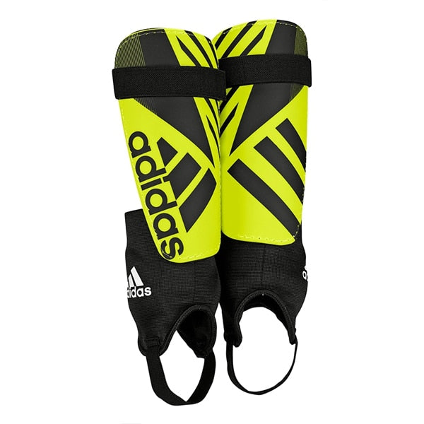 adidas Ghost Club Shin Guards Solar Yellow/Core Black