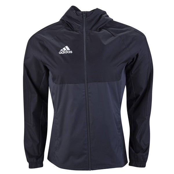 adidas Men's Tiro 17 Rain Jacket Black