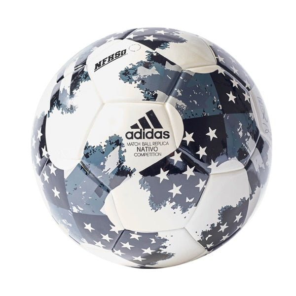 adidas 17 NFHS Competition Match Ball White/Silver/Black