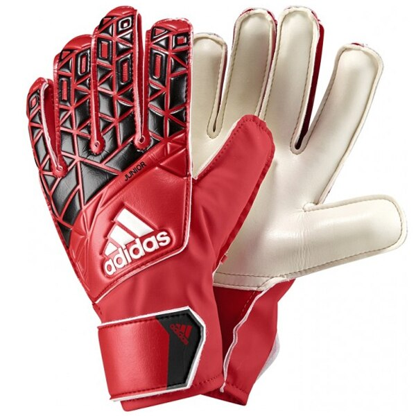 adidas ACE Kids Goalkeeper Gloves Red/Core Black
