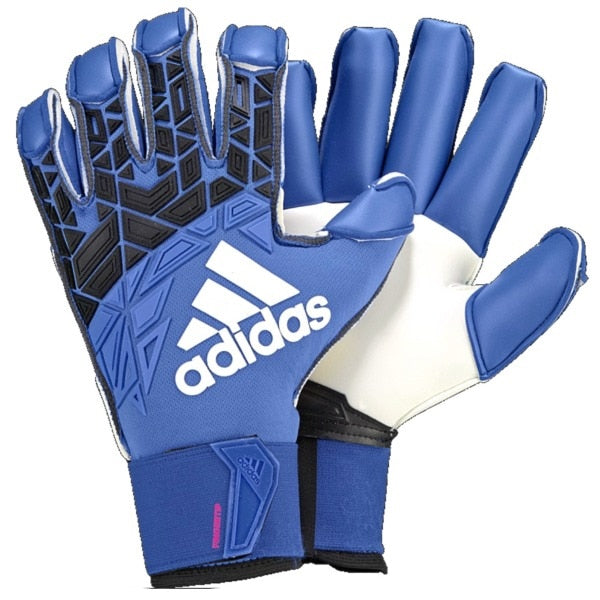 adidas ACE Trans Fingersave Pro Goalkeeper Gloves Blue/Black/White