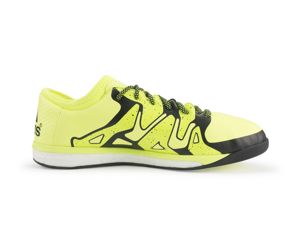 adidas Men's X 15.1 Boost Solar Yellow/Solar Yellow/Black