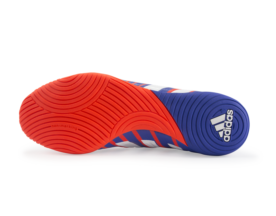 adidas Men's Predator Absolado Instinct Indoor Soccer Shoes Solar Red/White