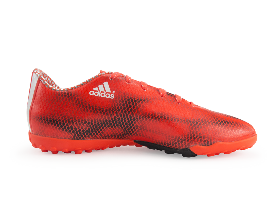 adidas Men's F10 Turf Soccer Shoes Solar Red/White/Core Black