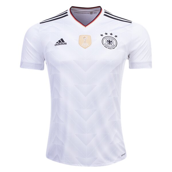 adidas Youth Germany 17/18 Home Jersey White/Black