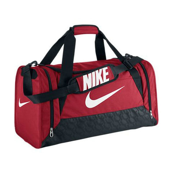 Nike Brasilia 6 Medium Duffel Bag University Red