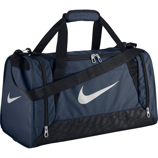 Nike Brasilia 6 Small Duffel Bag Navy