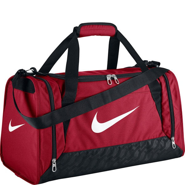 Nike Brasilia 6 Small Duffel Bag Red/Black/White