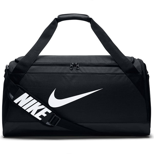 Nike Brasilia Medium Training Duffel Bag Black/White