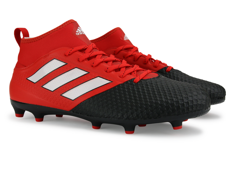 adidas Men's ACE 17.3 Primemesh FG Red/White/Core Black