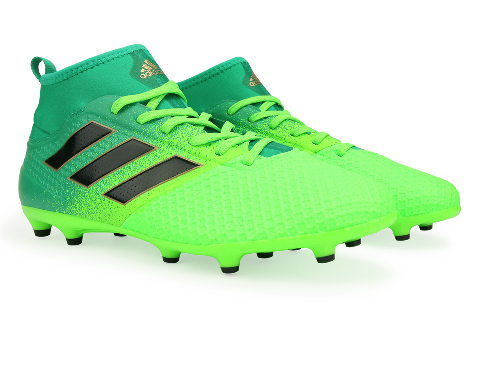 adidas Men's ACE 17.3 Primemesh FG Solar Green/Core Black/Core Green