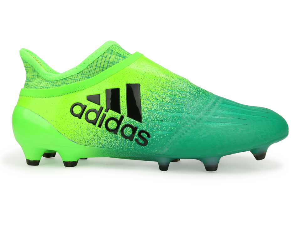 adidas Men's X 16+ Purechaos FG Solar Green/Core Black/Core Green