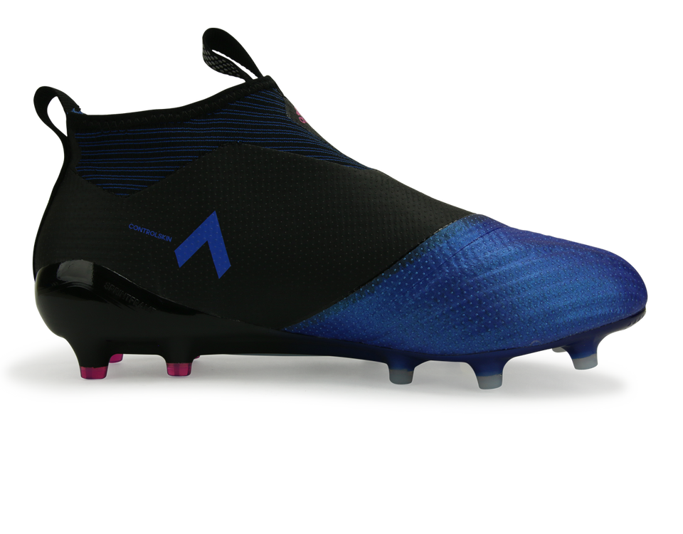adidas Men's ACE 17+ Purecontrol FG Core Black/White/Blue
