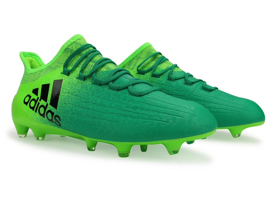 adidas Men's X 16.1 FG Solar Green/Core Black/Core Green