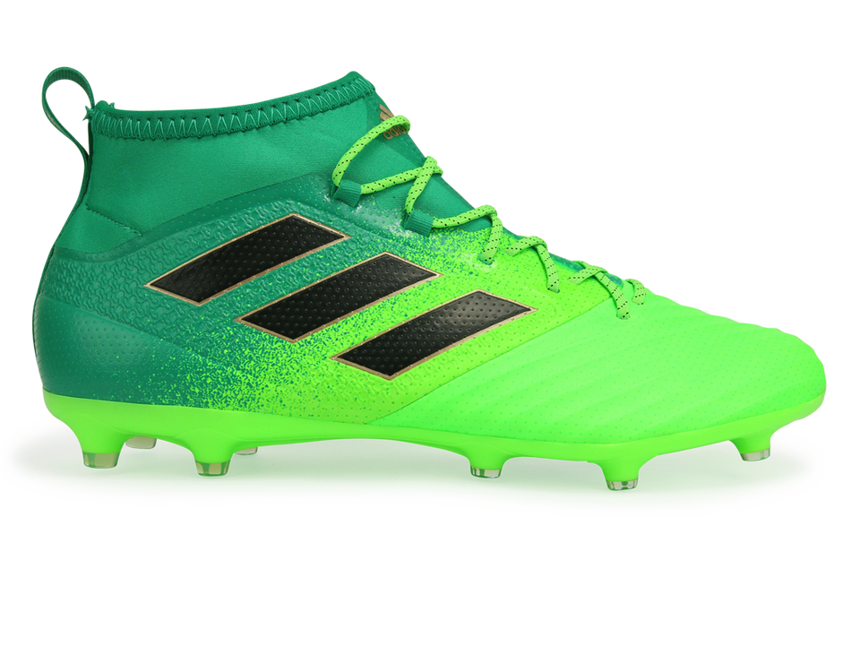adidas Men's ACE 17.2 Primemesh FG Solar Green/Core Black/Core Green