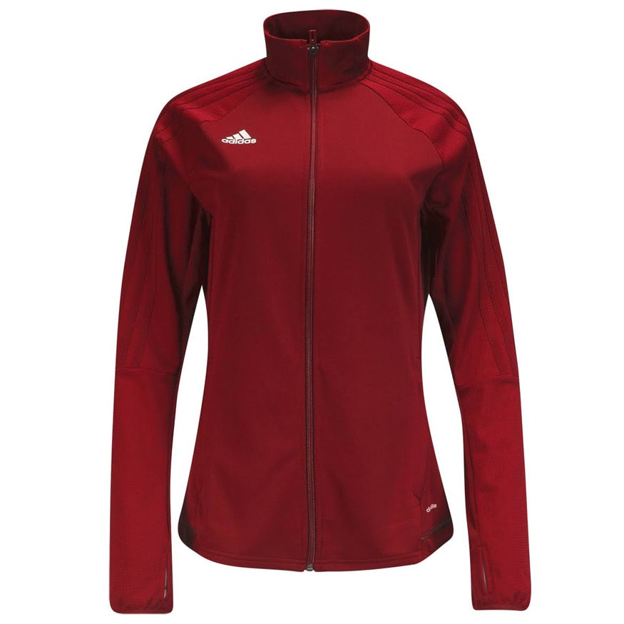 adidas Women's Tiro 17 Training Jacket Power Red/Black