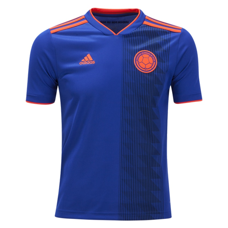 adidas Kids Colombia 18/19 Away Jersey Bold Blue/Solar Red