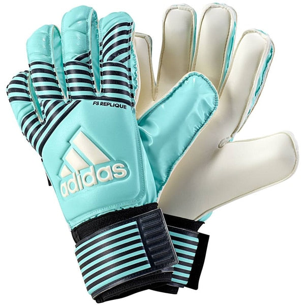 adidas Men's Goalkeeper ACE Fingersave Replique Gloves Energy Aqua/Energy Blue/Legend Ink