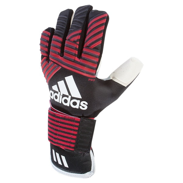 adidas ACE Transpro Goalkeeper Gloves Black/FCB True Red