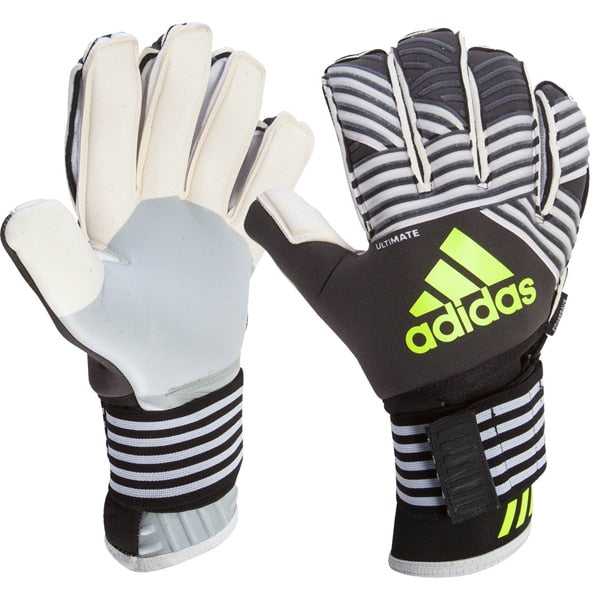 adidas ACE Trans Ultimate Goalkeeper Gloves Black/White/Solar Yellow