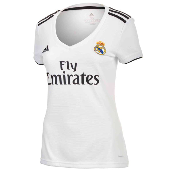 adidas Women's Real Madrid 18/19 Home Jersey Core White/Black