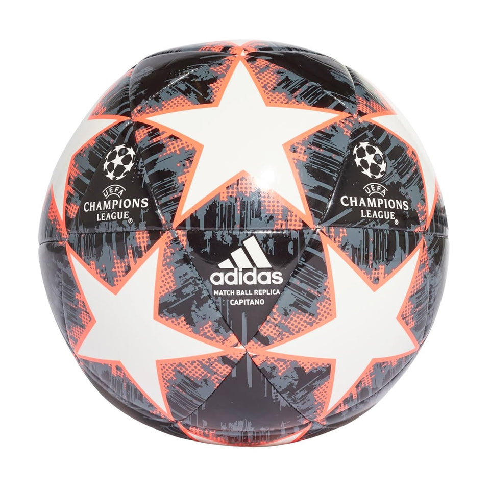 adidas Finale 18 Capitano Ball Black/White/Red