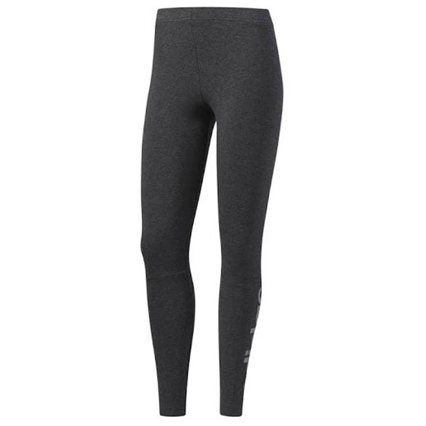 adidas Women's Essentials Linear Tight Dark Grey/Silver Metalic