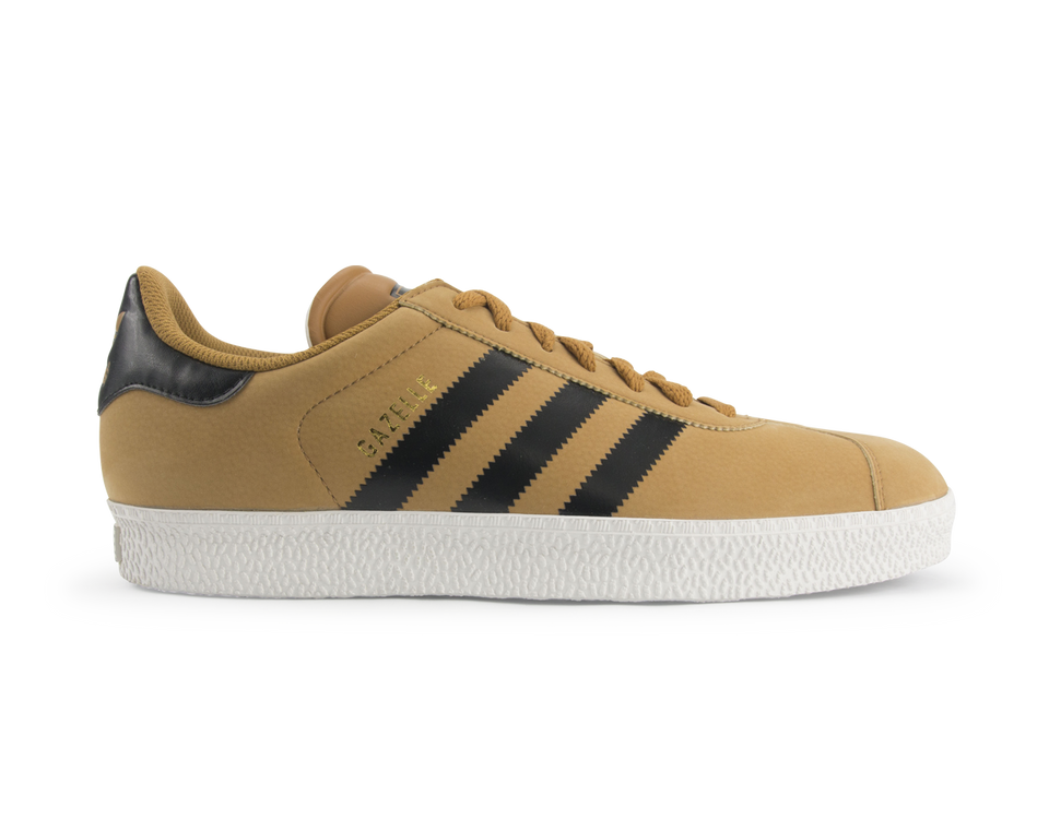 adidas Men's Gazelle 2.0 Shoes Wheat/Black/White Vapour