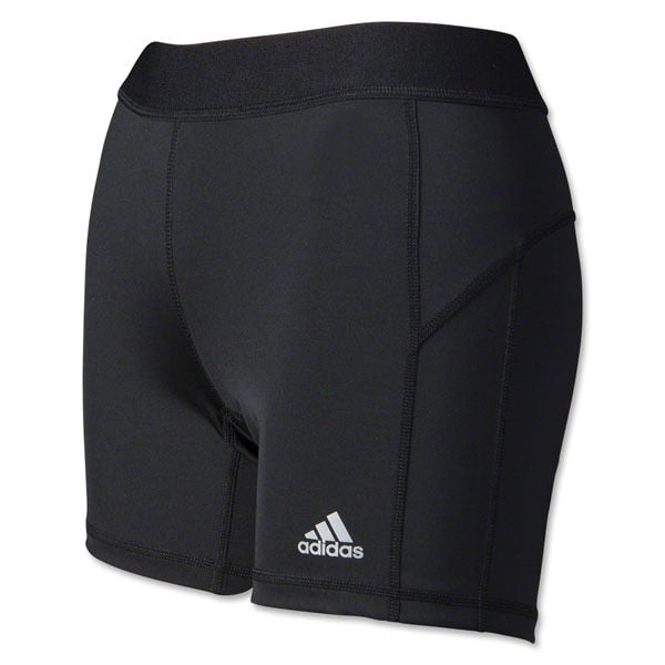 adidas Women's Techfit 5 Boy Soccer Shorts Black